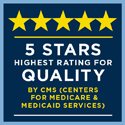 CMS 5 stars rating for quality