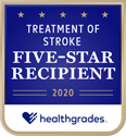 Healthgrades 2020: five-star recipient for treatment of stroke