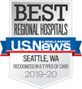 Award: US News & World Report 2019-20 Recognized for Six Types of Care - Best Regional Hospitals: Seattle, WA