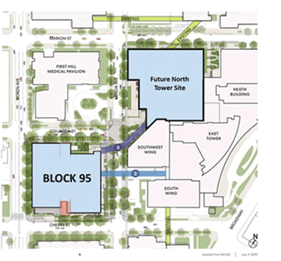 swedish first hill campus map First Hill Block 95 Swedish Medical Center Seattle And Issaquah