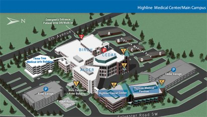 Map and Directions  Swedish Medical Center Seattle and Issaquah