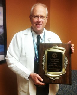 Richard J. Lindquist, M.D., A.B.F.M., F.A.A.S.P., was named Bariatrician of the Year by the American Society of Bariatric Physicians