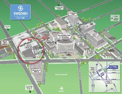 Map And Directions Swedish Medical Center Seattle And Issaquah - Swedish map